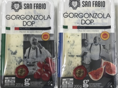 Gorgonzola italiano ritirato in Germania per presenza di Listeria monocytogenes
