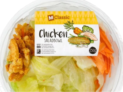 Listerie in insalata di pollo M-Classic Saladbowl Chicken.