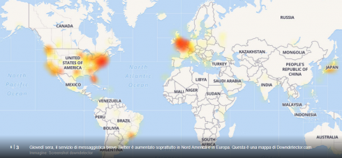Twitter down, social inaccessibile in tutto il mondo