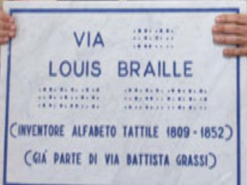 via louis braille